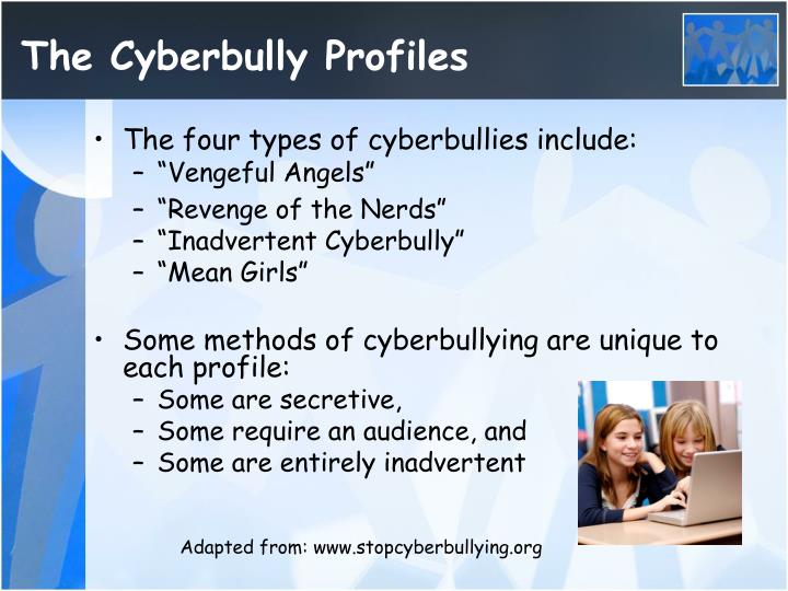 The Cyberbully Profiles