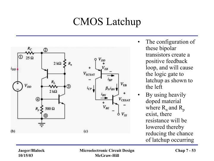 CMOS Latchup