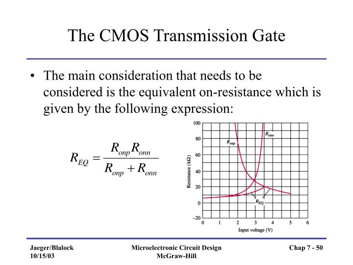 The CMOS Transmission Gate