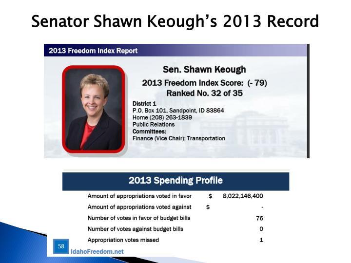 Senator Shawn