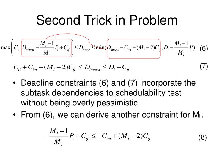 Second Trick in Problem