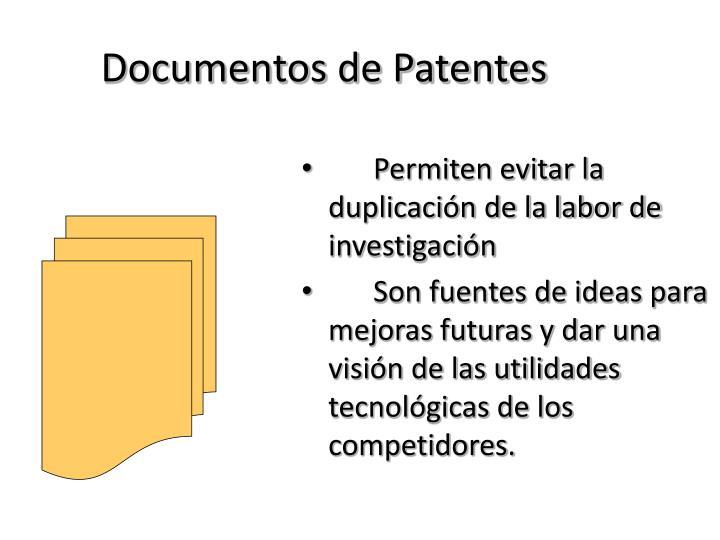 Documentos de Patentes