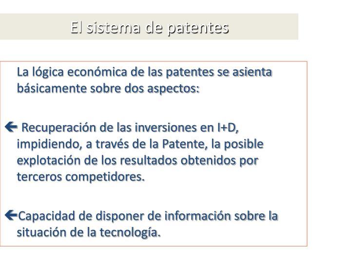 El sistema de patentes