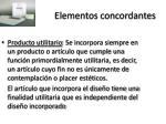 elementos concordantes2