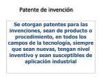 patente de invenci n1