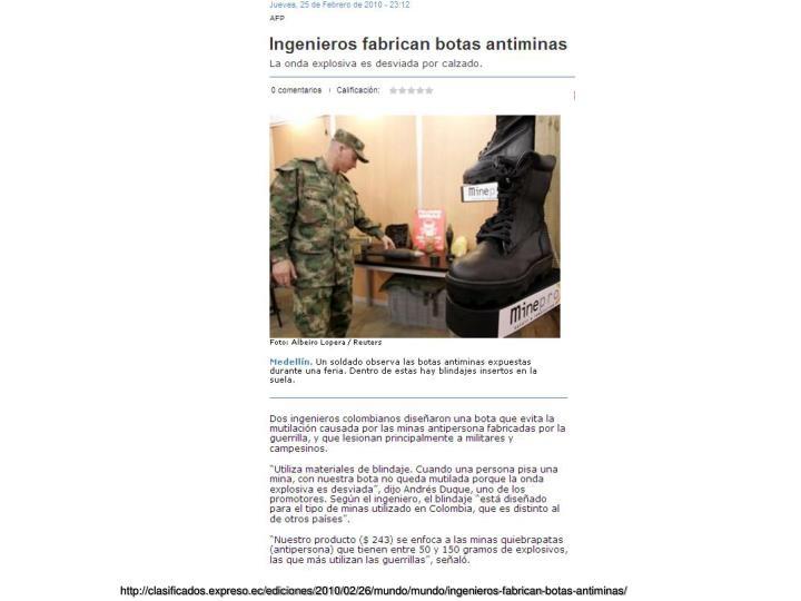 http://clasificados.expreso.ec/ediciones/2010/02/26/mundo/mundo/ingenieros-fabrican-botas-antiminas/