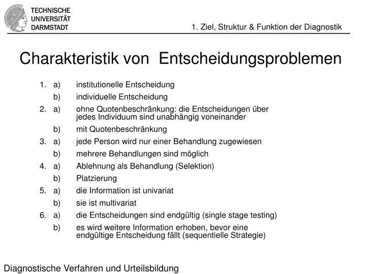 Diagnostische Verfahren und Urteilsbildung