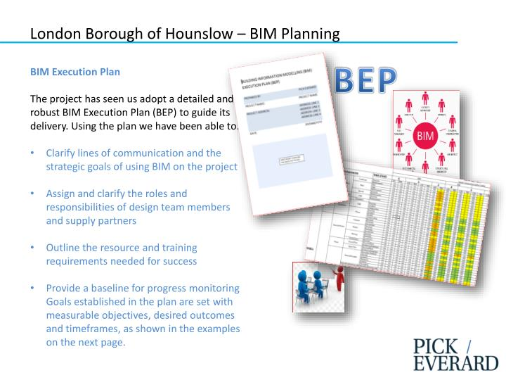 London Borough of Hounslow – BIM Planning