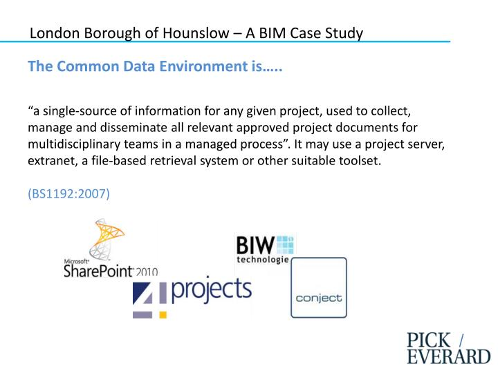 London Borough of Hounslow – A BIM Case Study