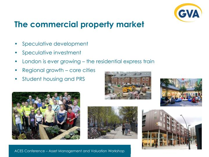 The commercial property market
