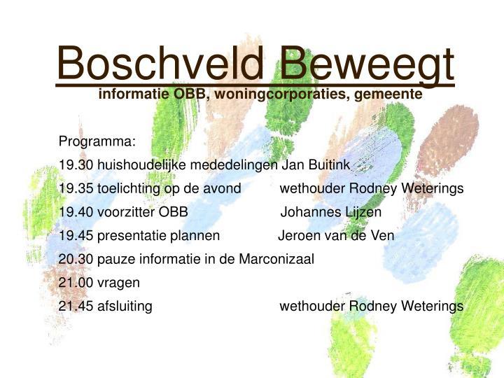 Boschveld Beweegt