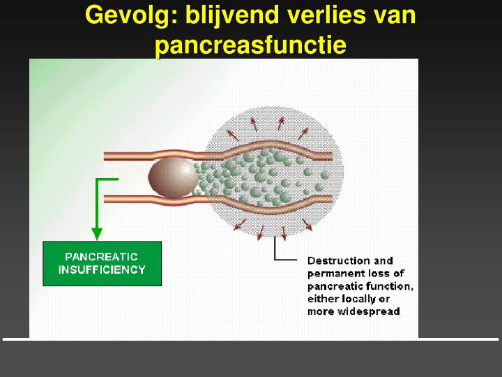 chronische pancreatitis