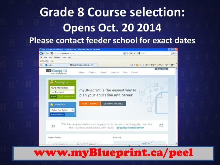 Grade 8 Course