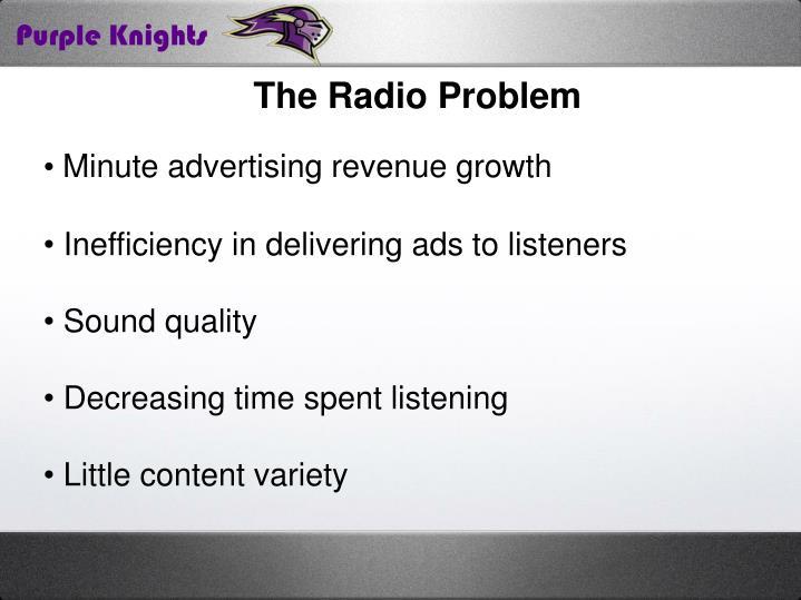 The Radio Problem