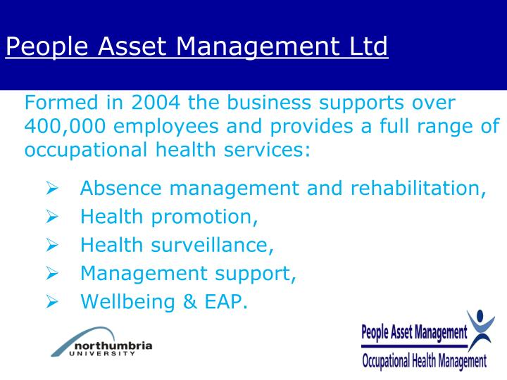 People Asset Management Ltd