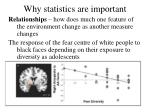 why statistics are important1