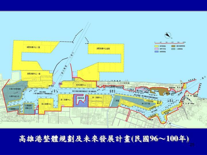 高雄港整體規劃及未來發展計畫