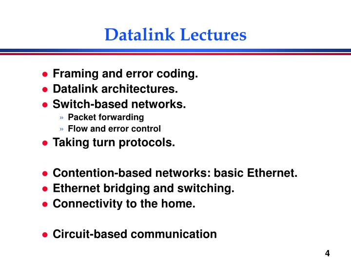 Datalink Lectures