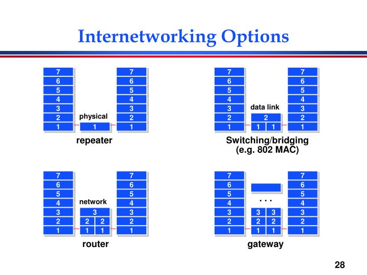 Internetworking Options