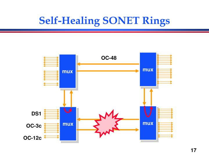 Self-Healing SONET Rings