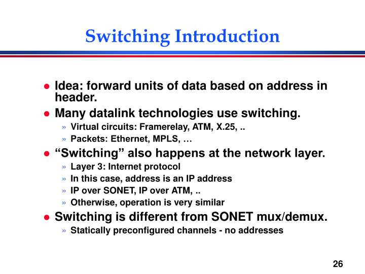 Switching Introduction