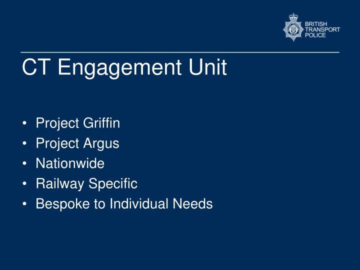 CT Engagement Unit