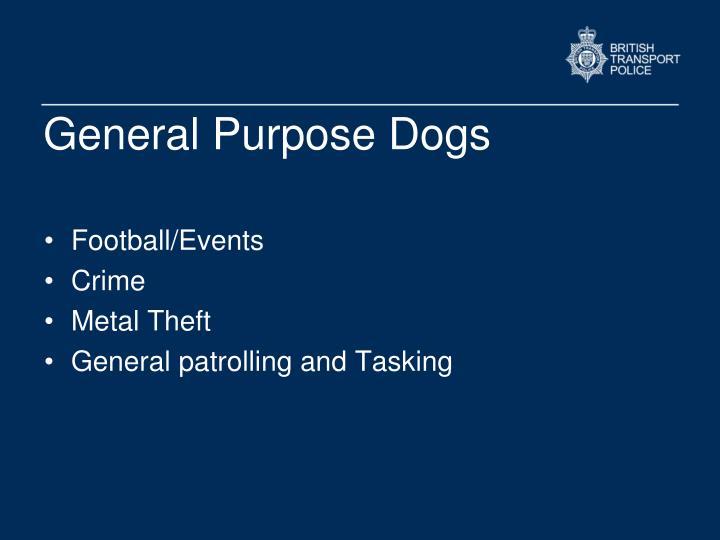 General Purpose Dogs