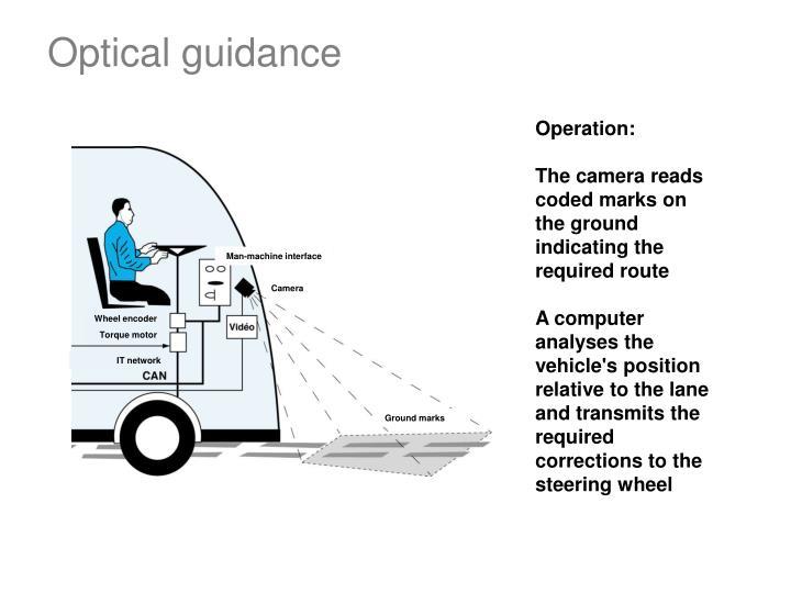 Optical guidance