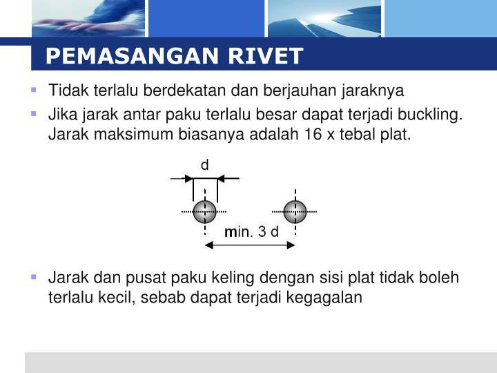 PEMASANGAN RIVET