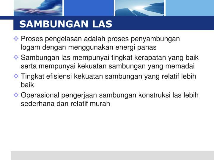 SAMBUNGAN LAS