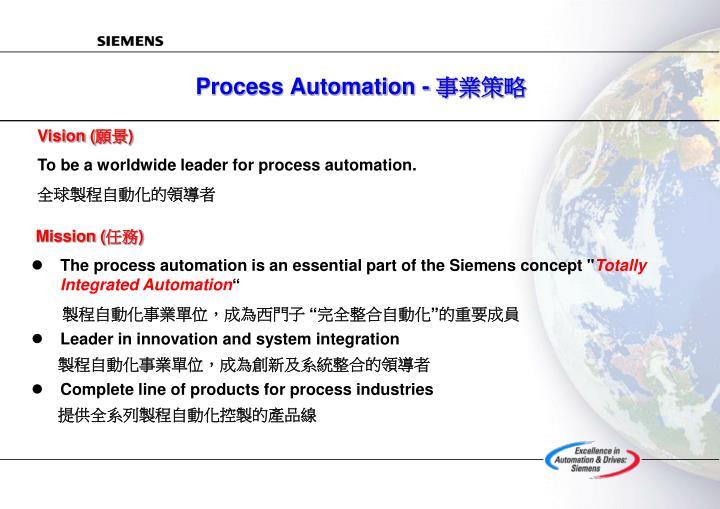 Process Automation -