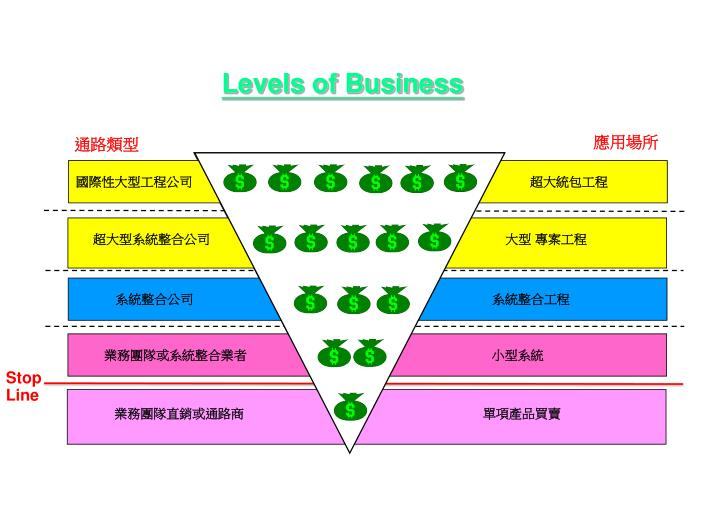 Levels of Business