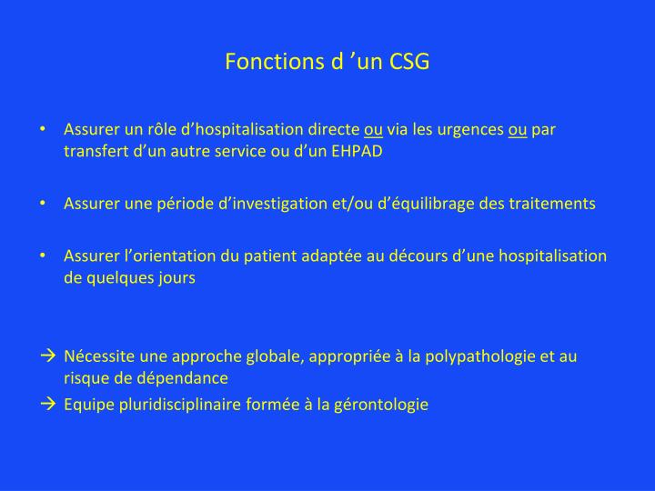 Ppt interet d un court sejour geriatrique powerpoint presentation id 5600983 - Interet d un surmatelas ...