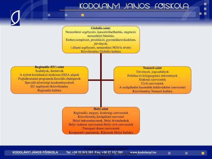A szocilis munks kpzs interakcionista modellje Nyregyhza 2006 okt.