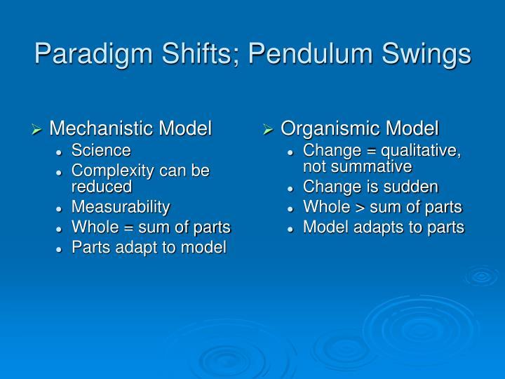 Mechanistic Model