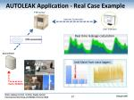 autoleak application real case example