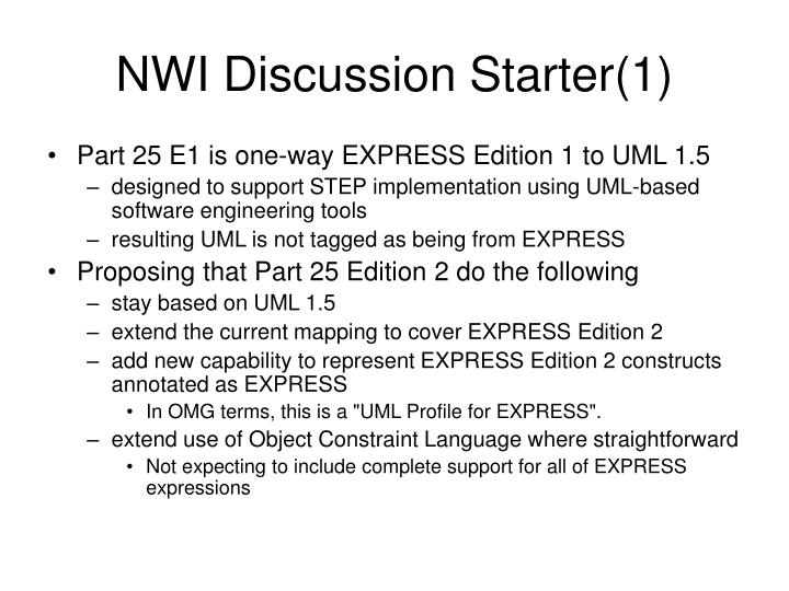 NWI Discussion Starter(1)