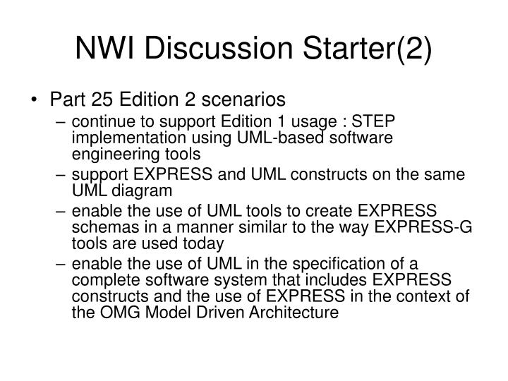 NWI Discussion Starter(2)
