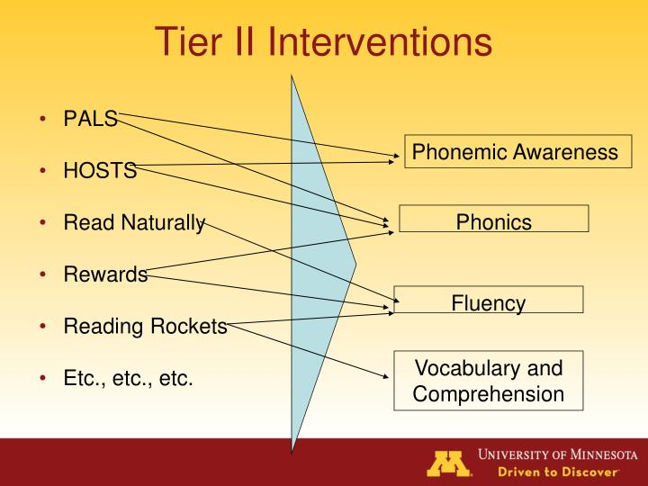 Tier II Interventions