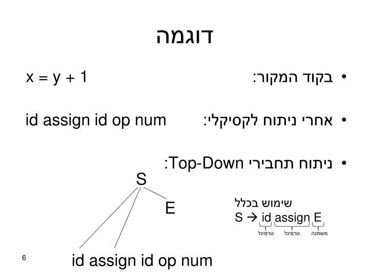 דוגמה