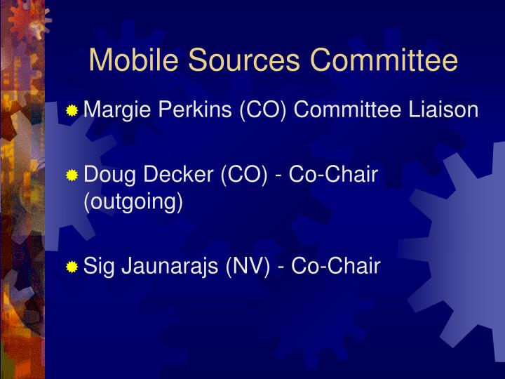 Mobile Sources Committee