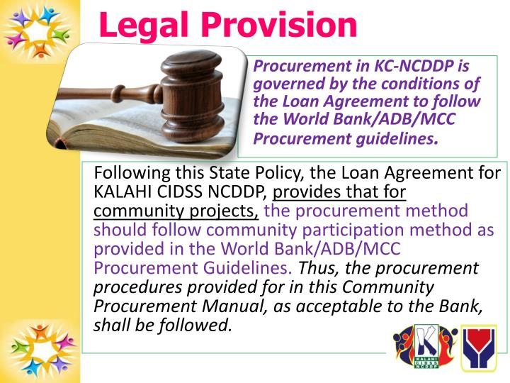 Legal Provision
