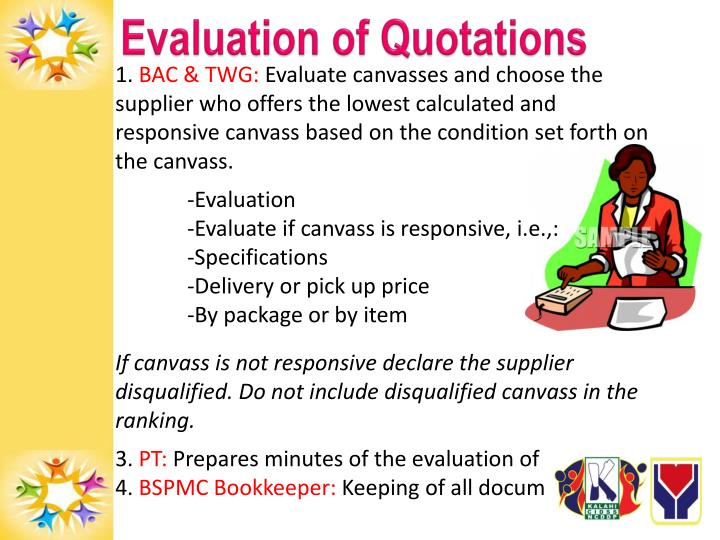 Evaluation of Quotations