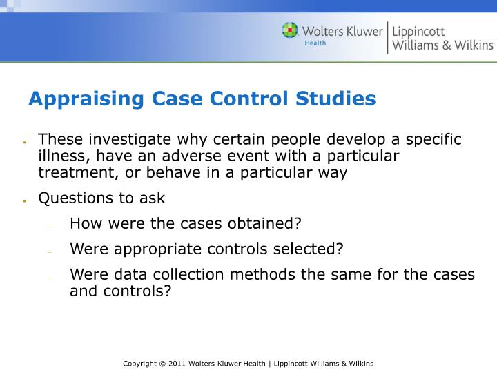 Cohort and case-control studies ppt