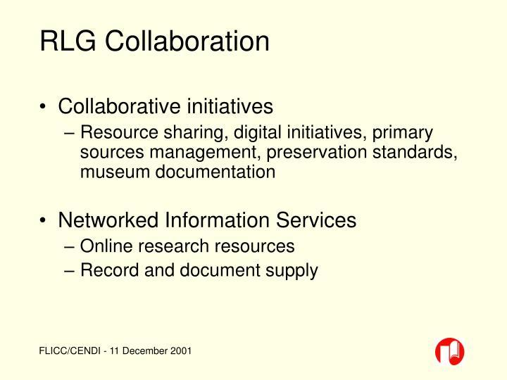 RLG Collaboration
