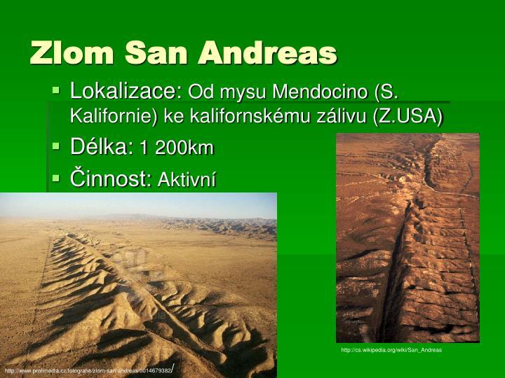 Zlom San Andreas