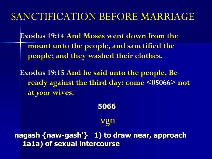 Exodus 19:14