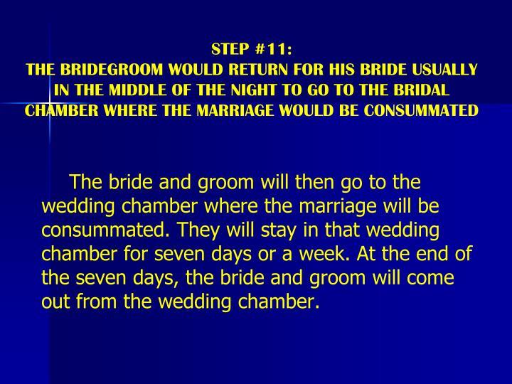 STEP #11: