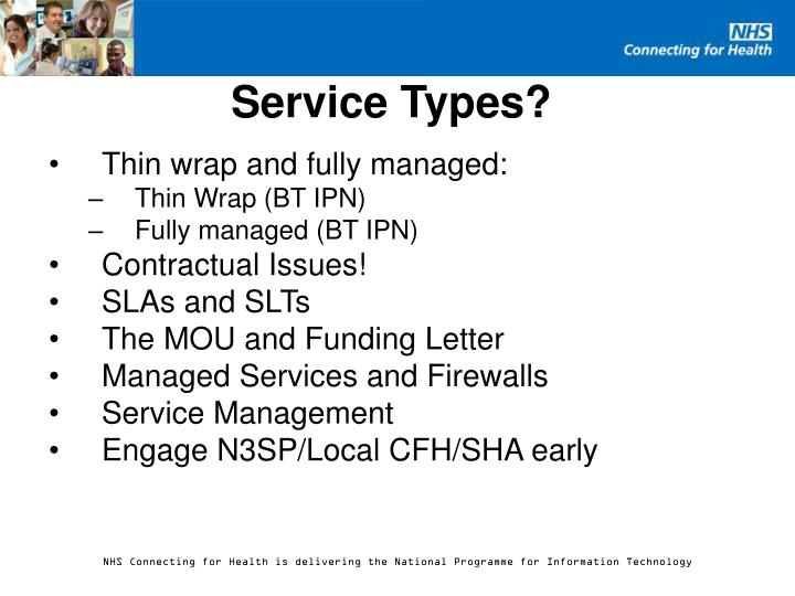 Service Types?