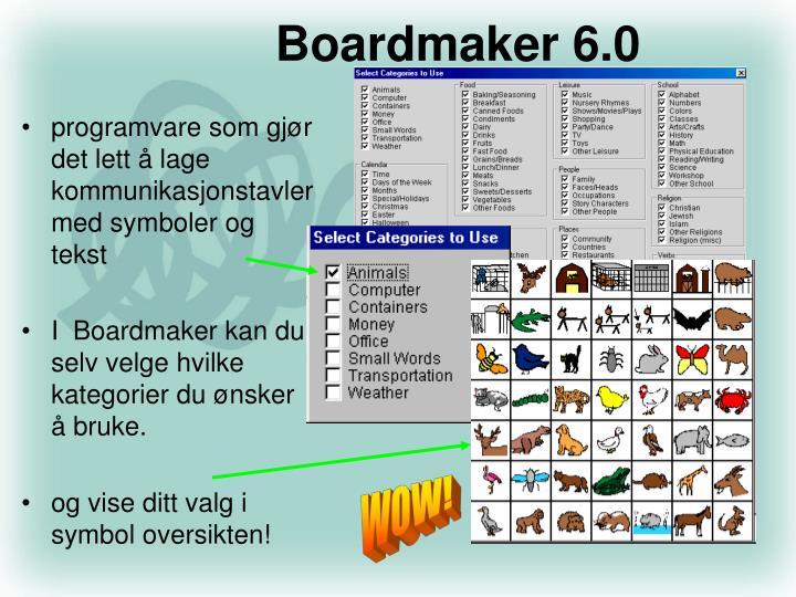 Boardmaker 6.0